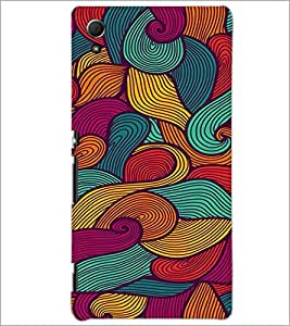 PrintDhaba Pattern D-2061 Back Case Cover for SONY XPERIA Z4 (Multi-Coloured)