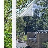 Pellicola Specchio Oscurante per Finestre 44.5x200cm rabbitgoo Pellicola Riflettente Finestre Anti 99% UV Pellicola Privacy Unidirezionale Controllo del Calore Adatto per Ufficio Casa