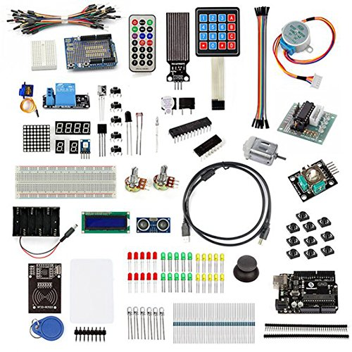 SainSmart RFID Master Kit with Motor Servo, LCD, Various Sensors for Arduino IDE AVR MCU Learner