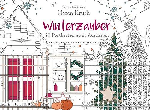 Buchseite und Rezensionen zu 'Winterzauber: Postkartenbuch' von Maren Kruth