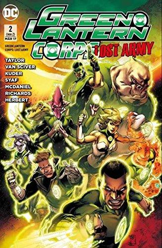 Green Lantern: Lost Army: Bd. 2 (Action-figuren Corps Das)