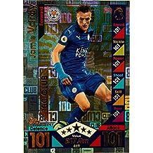 Match Attax 16/17> Jamie Vardy Leicester City 100Club > # 469