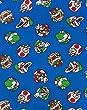 Super Mario Characters Boy's Zip Up Hoodie