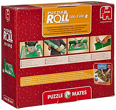 Jumbo Puzzle Mates Puzzle & Roll Jigroll for Puzzles up to 1500 Pieces, Multi : everything five pounds (or less!)