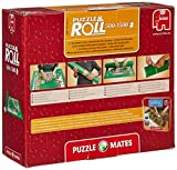 Enlarge toy image: Puzzle Mates Puzzle and Roll Jigroll with Two Fastening Straps - toddler baby activity product