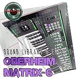 Oberheim matrix-6Riesiges Original Sound Library & Editors auf CD