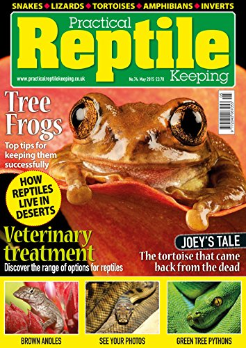 Practical Reptile Keeping - May 15 (English Edition) (Python-pet Green Tree)
