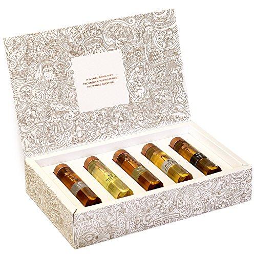 """Tastillery Whisky Tasting Probierset """"Smoking Guns"""" in Geschenkbox (5 x 50ml) Das perfekte Geschenk für Whiskyliebhaber"""