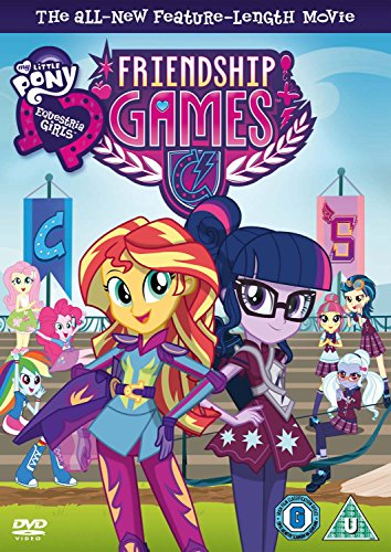 My Little Pony: Equestria Girls - Friendship Games [DVD] [UK Import]