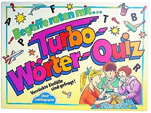 Turbo-Wörter-Quiz. Verrückte Einfälle sind gefragt!