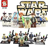 Star Wars Compatible Constructor Set 8 Action Figures - Troops Mini Figurine by Xinh