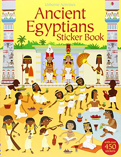 Ancient Egyptians Sticker Book (Young History Sticker Books)