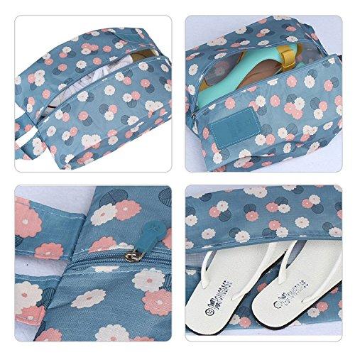 Reisetasche, mSure 7 Set Kleidertaschen mit Schuhbeutel - Reisegepäck Kofferorganizer Packtaschen Veranstalter Beutel