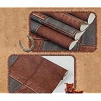 Negozio di denim modello PVC carta da parati caratteristiche tema bar ristorante café bar abbigliamento sfondi , cowboy red ash