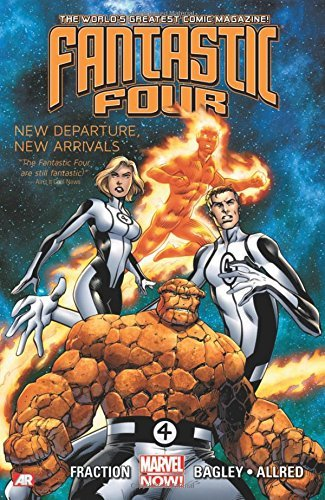 Fantastic Four - Volume 1: New Departure, New Arrivals by Matt Fraction (16-Apr-2013) Paperback