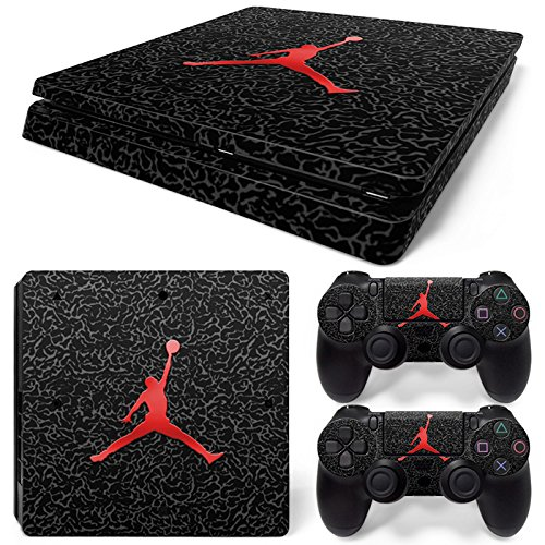 Price comparison product image GoldenDeal PS4 Slim Console and DualShock 4 Controller Skin Set - Basketball NBA - PlayStation 4 Slim Vinyl
