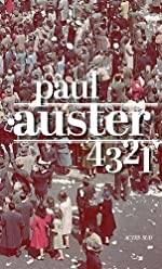 4 3 2 1 (français) de Paul Auster