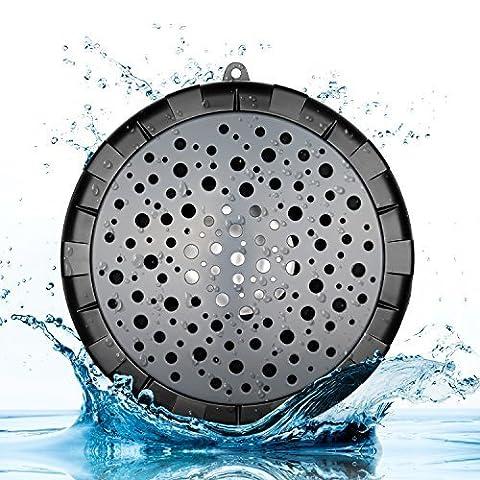 SoundSOUL 004 Bluetooth Lautsprecher Wasserdicht Tragbar Kabellos HD für Badezeit