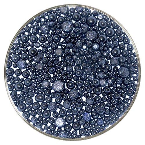 Aventurin blau transparent Frit Bälle-90COE Unzen, neue größere Größe-aus Zielscheibe Glas von New Hampshire Kunsthandwerk