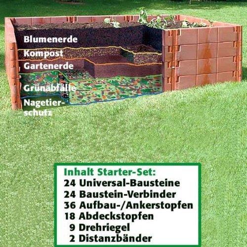 Juwel Hochbeet Starter-Set, 1 Stück