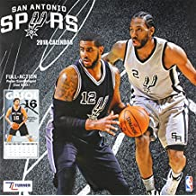 San Antonio Spurs 2018 Calendar