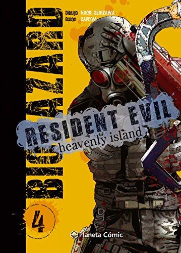 Resident Evil Heavenly Island nº 04/05 (Manga Seinen)
