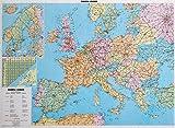 Poster Europa Straßenkarte politisch 1:4 Mio. (Geo Map)
