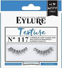 Eylure Texture No. 117 Pre-Glued, 1er Pack (1 x 2 Stück)