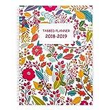"""Shiplies luglio 2018–giugno 2019giornaliera, settimanale e mensile agenda Accademica planner per uomini, donne, insegnanti e studenti 17,8x 25,4cm con note pagine 7"""" x 10"""""""
