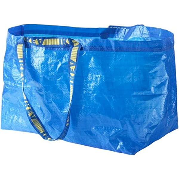 Ikea Bolsas Grandes Azul Frakta x 5 Ideal Para Uso Exterior Y ...