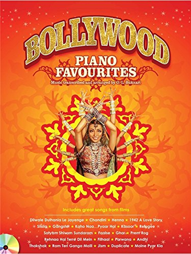 Bollywood Piano Favourites - Sheet Music, CD