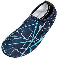 Sunenjoy Chaussures Aquatique pour Sport d'eau Piscine Plongée Natation Chaussons de Plage Femme Homme Chaussettes…