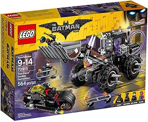 LEGO Batman Two Face Double Demolition 70915