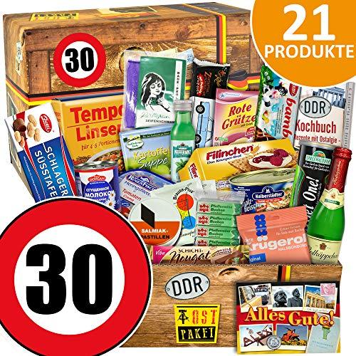 DDR Geschenkbox | 30 Geburtstag | Geschenkset Freundin | Spezialitäten Set