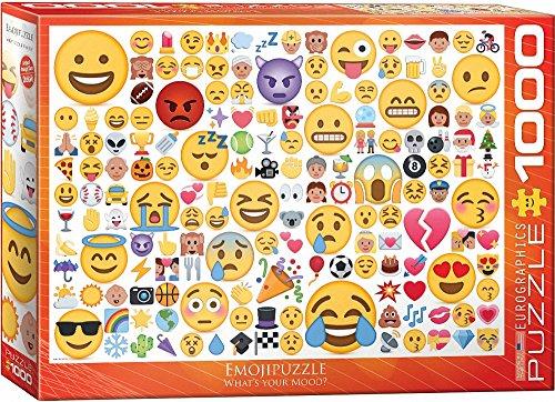 "emoji puzzle Eurographics bdquo;Emoji""-Puzzle (1.000 Teile, mehrfarbig)"