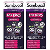 Sambucol Black Elderberry Liquid for Kids, 2 x 120ml