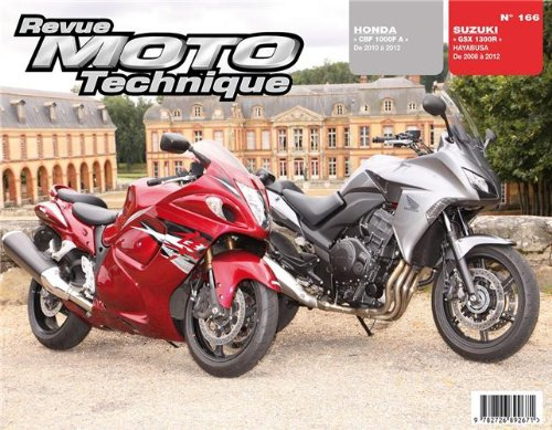 Rmt 166 Honda cbf1000f 10/12 /suz gsx1300r hayabusa