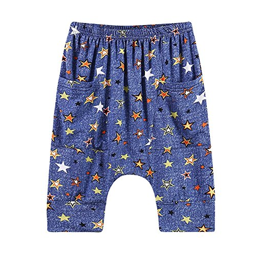 Baby Boy Harem Short Pants Loose Causal Summer Trousers Sport Kid Children Outfit for 2-6 Years Old