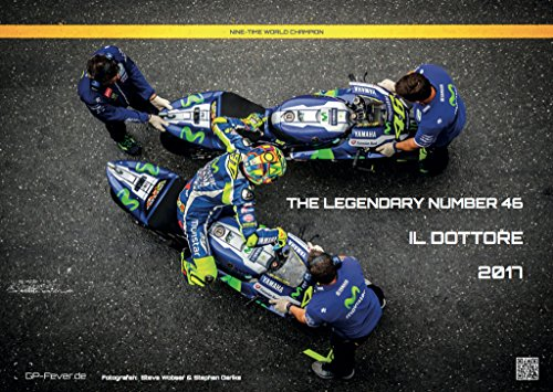 the-legendary-number-46-il-dottore-kalender-2017-din-a3-valentino-rossi