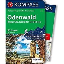 Odenwald: Wanderführer mit Extra-Tourenkarte 1:75.000, 60 Touren, GPX-Daten zum Download (KOMPASS-Wanderführer, Band 5251)