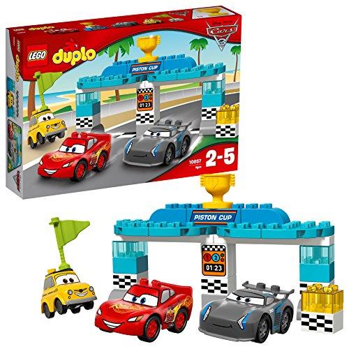 Lego Duplo Disney - La Course de la Piston Cup - 10857 - Jeu de Construction