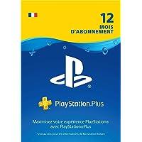 PlayStation Plus: abonnement de 12mois | Code Jeu PSN - Compte français