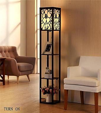 ZHANGRONG Boden Lampen Die Neue Chinesische Moderne Minimalistische Kreativ Retro Holz Stehlampe Wohnzimmer Schlafzimmer Den Vertikal Lampe