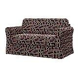 Soferia - IKEA HAGALUND Fodera per divano letto, City Black