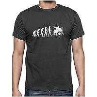 Evolution Batteur - Drummer Player T-Shirt Homme