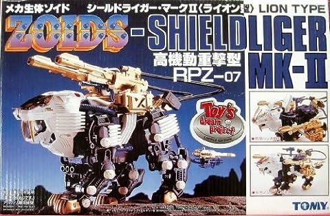ZOIDS / mécanique biologique de type Zoids Bouclier Liger mark II RPZ-07 Lion