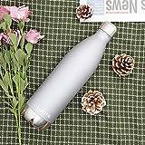 Trinkflasche Edelstahl Wasserflasche Doppelwandig Vakuum Isoliert Edelstahl...