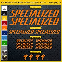 Kit Pegatinas Stickers Bicicleta Specialized- Kit 11-14 Piezas- Bike Cycle Cod.