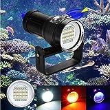 huichang Tauchlampe Unterwasser Taschenlampe, 20000 Lumen 100m wasserdicht LED taucherLampe