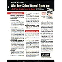 What Law School Doesn't Teach You; Quick Reference Chart (Career Guides)